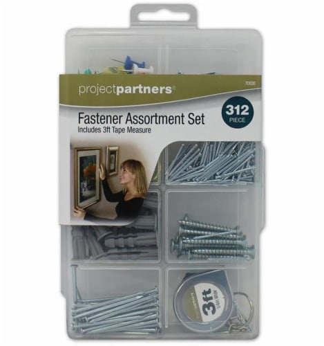 Project Partners Fastener Assortment Set Perspective: front