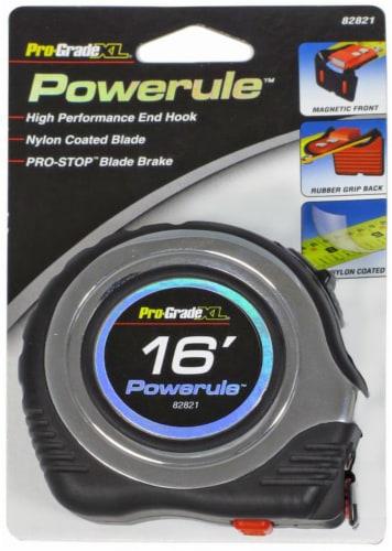 Pro-Grade® Powerule™ Tape Measure - 16 Foot Perspective: front