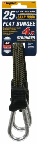 CargoLoc Carabiner Bungee Strap Perspective: front