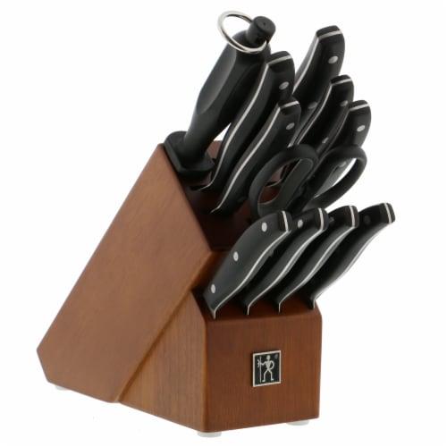Henckels Knife Block Set Perspective: front