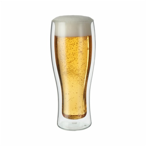 ZWILLING Sorrento 2-pc Double-Wall Beer Glass Set Perspective: front