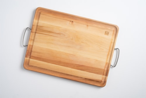 ZWILLING Birchwood Carving Board with Handles Perspective: front
