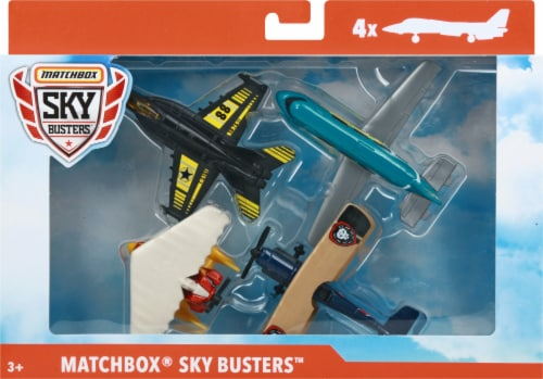 Matchbox Sky Busters Airplanes Perspective: front