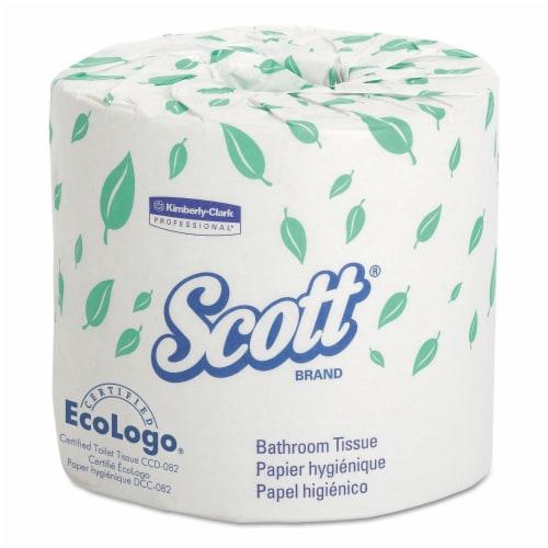 KIMBERLY-CLARK PROFESSIONAL* 04460 SCOTT Embossed Premium Bathroom Tissue-80 rolls Perspective: front