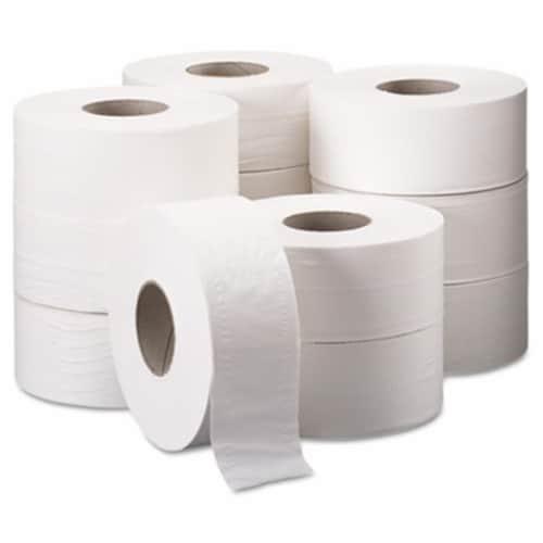 Kleenex Toilet Paper,Cottonelle Jumbo,PK12 Perspective: front
