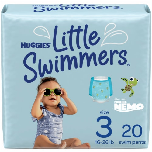 Huggies Little Swimmers Size 3 Swim Diapers Perspective: front