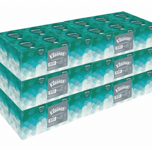 Kimberly-Clark Professional Facial Tissue,95,White,PK36 Perspective: front