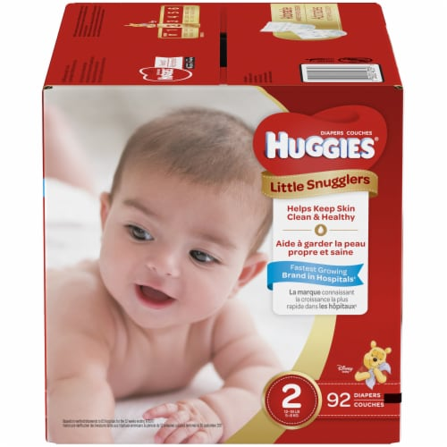 Huggies Size 2 Little Snugglers Diapers Perspective: front