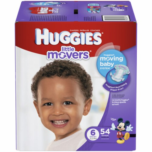 Huggies Size 6 Little Movers Diapers Perspective: front