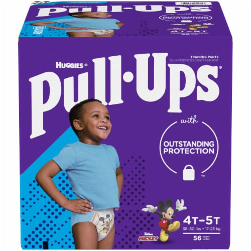Pull-Ups Learning Designs Boys 4T-5T Training Pants Perspective: front