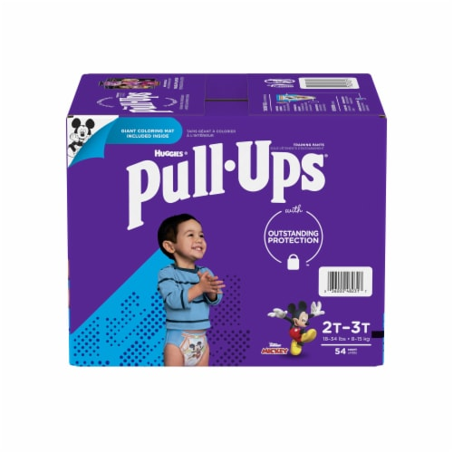 Pull-Ups Learning Designs Boys' Training Pants 2T-3T Perspective: front