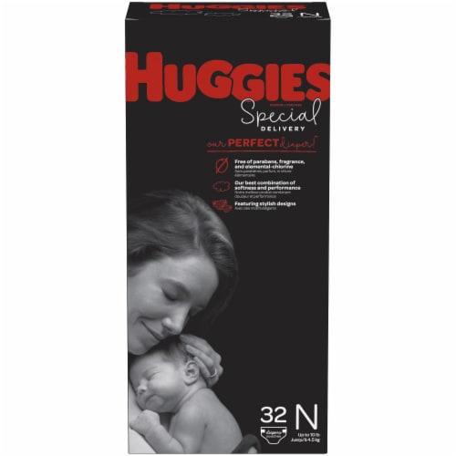 Huggies Special Delivery Newborn Baby Diapers Perspective: front