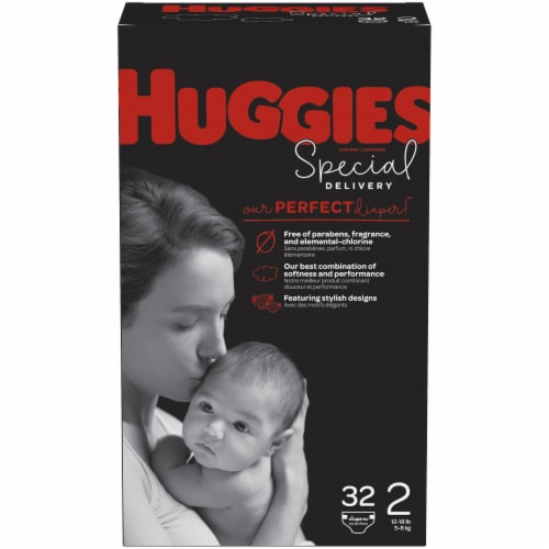 Huggies Special Delivery Size 2 Diapers Perspective: front