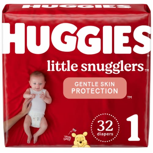 Huggies Little Snugglers Size 1 Diapers Perspective: front