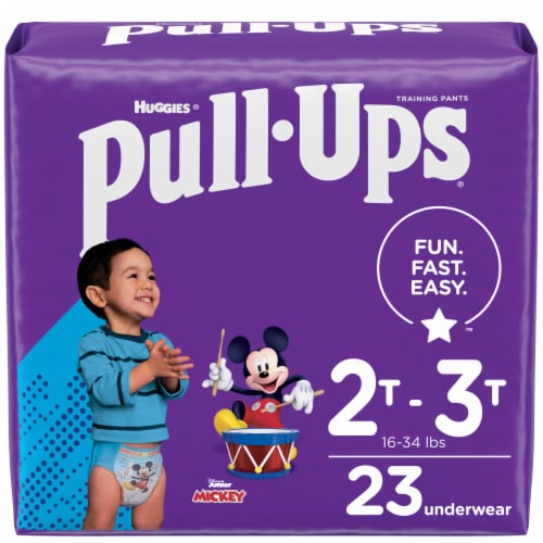 Pull-Ups Learning Designs 2T-3T Boys' Training Pants Perspective: front