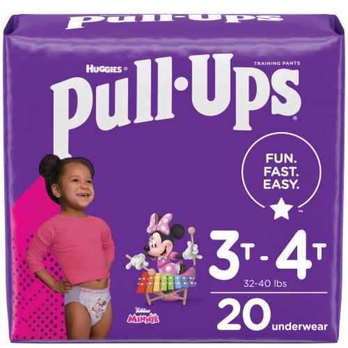Pull-Ups Learning Designs Girls' Training Pants 3T-4T Perspective: front