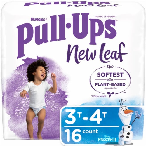 Pull-Ups New Leaf Boys Size 3T-4T Training Pants Perspective: front
