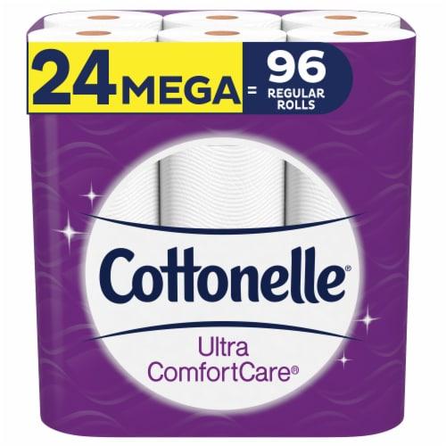 Cottonelle Ultra ComfortCare Toilet Paper Perspective: front