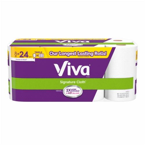 Viva Signature Cloth Paper Towels Perspective: front