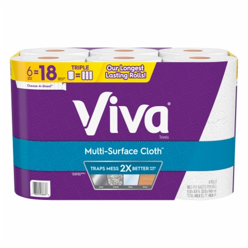 Viva Multi-Surface Cloth Paper Towels Perspective: front