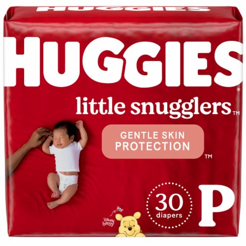 Huggies Little Snugglers Size Preemie Diapers Perspective: front