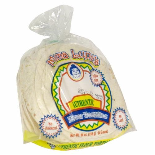 Mama Lupe's Fajita Size Flour Tortillas Perspective: front
