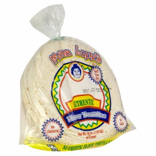 Mama Lupe's Flour Tortillas Perspective: front