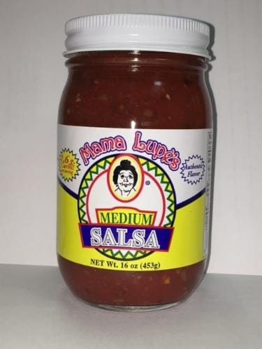 Mama Lupe's Medium Salsa Perspective: front