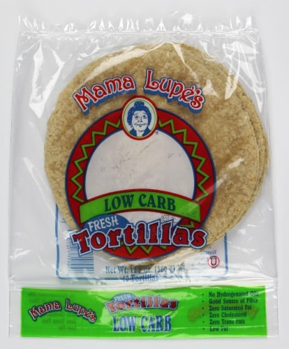 Mama Lupe's Low Carb Tortillas Perspective: front