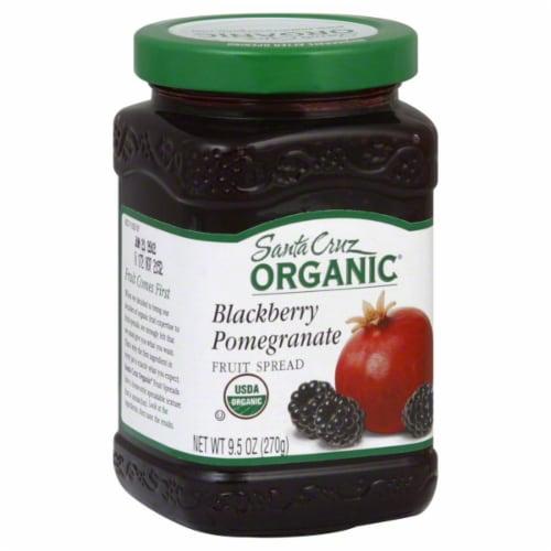 Santa Cruz Organic Blackberry Pomegranate Fruit Spread Perspective: front