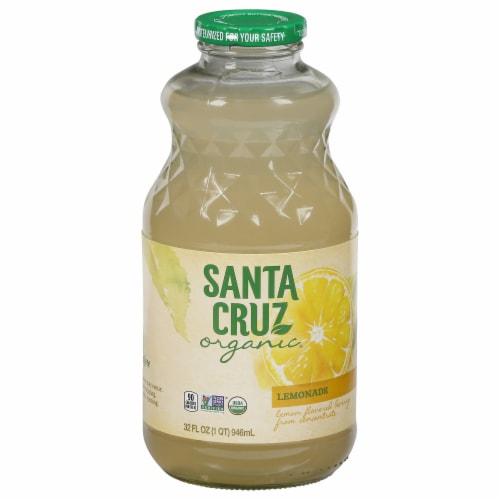 Santa Cruz Organic Lemonade Perspective: front