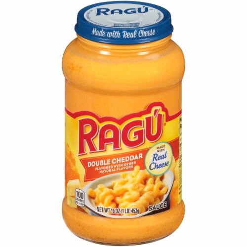 Ragu Cheese Creations Double Cheddar Sauce Perspective: front