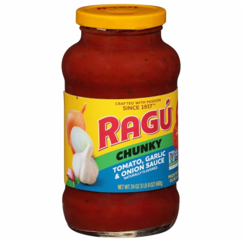 RAGU Chunky Tomato Green Perspective: front