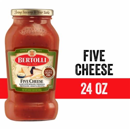 Bertolli Five Cheese Pasta Sauce Perspective: front