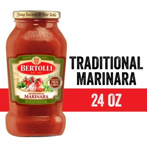 Bertolli Traditional Marinara Sauce Perspective: front