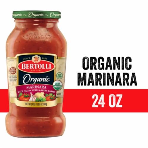 Bertolli Organic Marinara Sauce Perspective: front