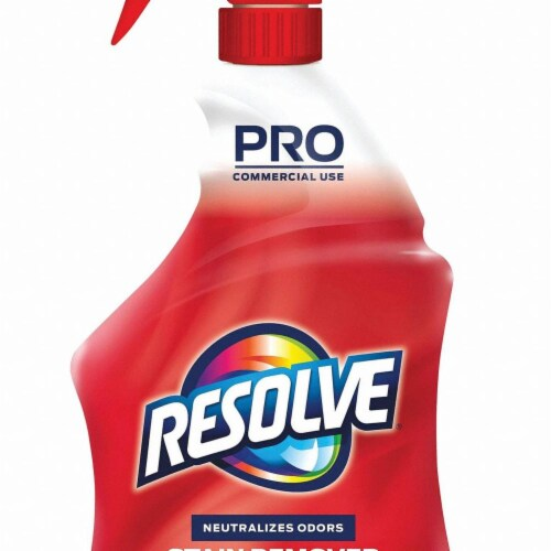 Professional Resolve Spot and Stain Carpet Cleaner, 32 Oz Spray Bottle 97402EA Perspective: front