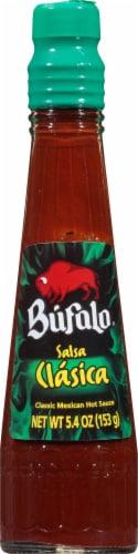 Búfalo Salsa Picante Clásica Mexican Hot Sauce Perspective: front
