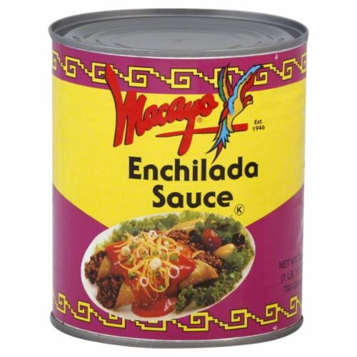 Macayo Enchilada Sauce Perspective: front