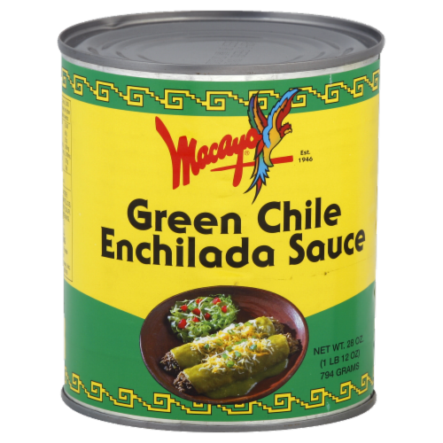 Macayo Green Chile Enchilada Sauce Perspective: front