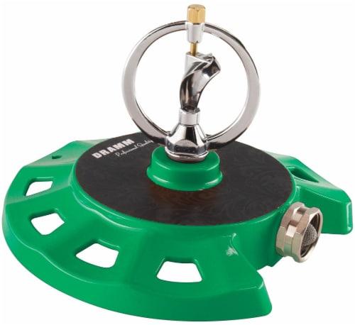 Dramm ColorStorm Spinning Sprinkler - Green Perspective: front