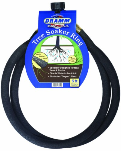 Dramm 10-17052 Tree Soaker Ring, 5 ft. Perspective: front