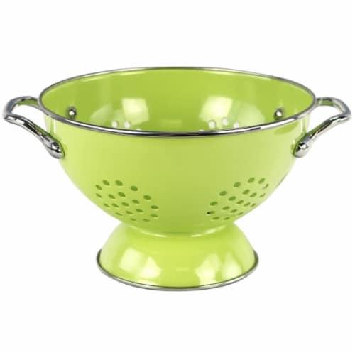 Reston Lloyd 08901 Lime - 1.5 Qt Colander Perspective: front