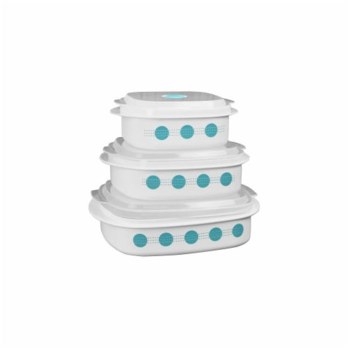 Reston Lloyd  Microwave Cookware & Storage, South Beach - 6 Piece Perspective: front