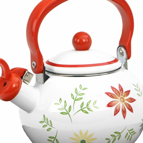 Reston Lloyd 2 qt Happy Days Teakettle Perspective: front