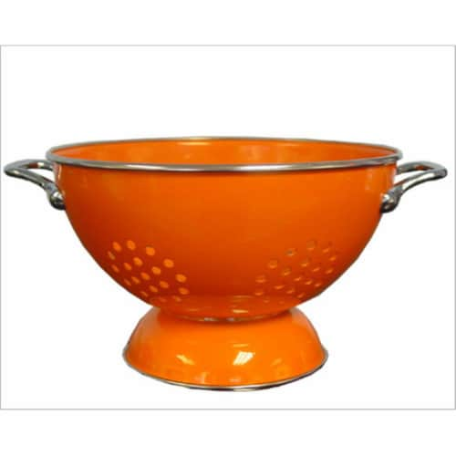 Reston Lloyd 80500 Orange - 3 Qt Colander Perspective: front
