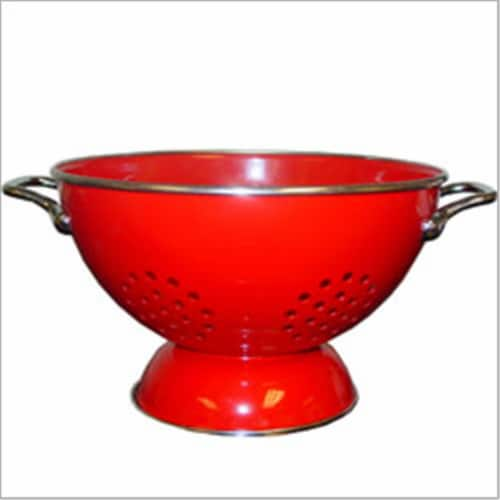 Reston Lloyd 80600 Red - 3 Qt Colander Perspective: front