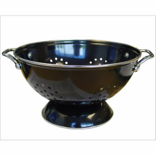Reston Lloyd 88100 Black - 5 Qt Colander Perspective: front