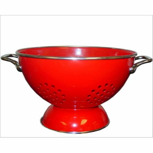 Reston Lloyd 88600 Red - 5 Qt Colander Perspective: front