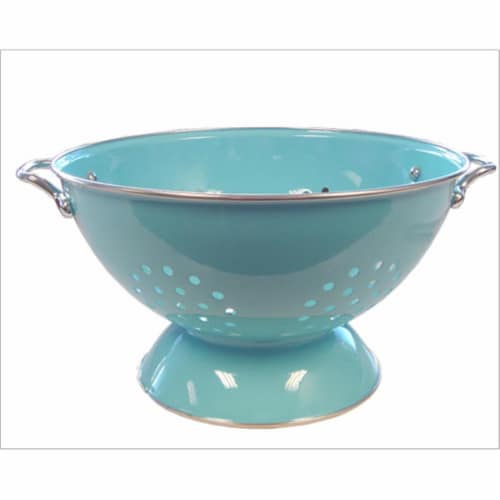 Reston Lloyd 88702 Turquoise - 5 Qt Colander Perspective: front